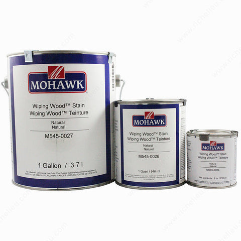 Mohawk Wiping Wood Stains