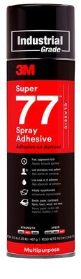 3M Super 77 Spray Adhesive