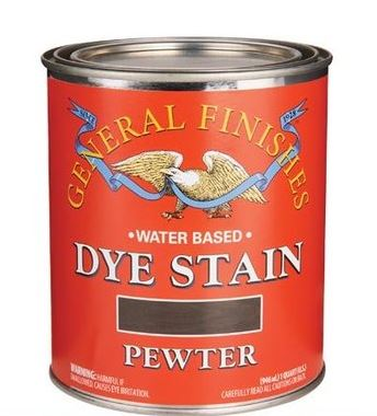 General Finishes Waterbased Dye Stains