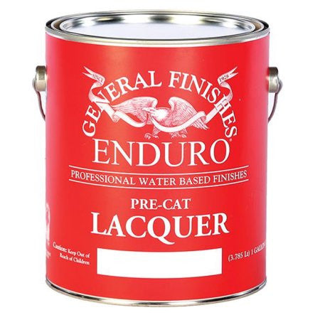 General Finishes Waterbased Enduro Pre-Cat Lacquer (Custom Colors Available)