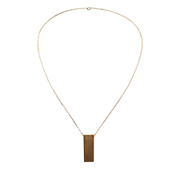 Marlow Block Necklace