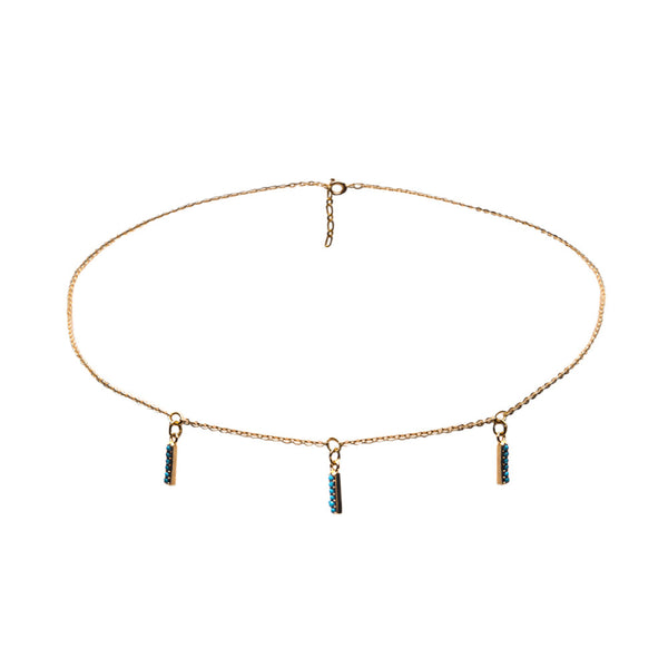 Logan Turquoise Choker Necklace