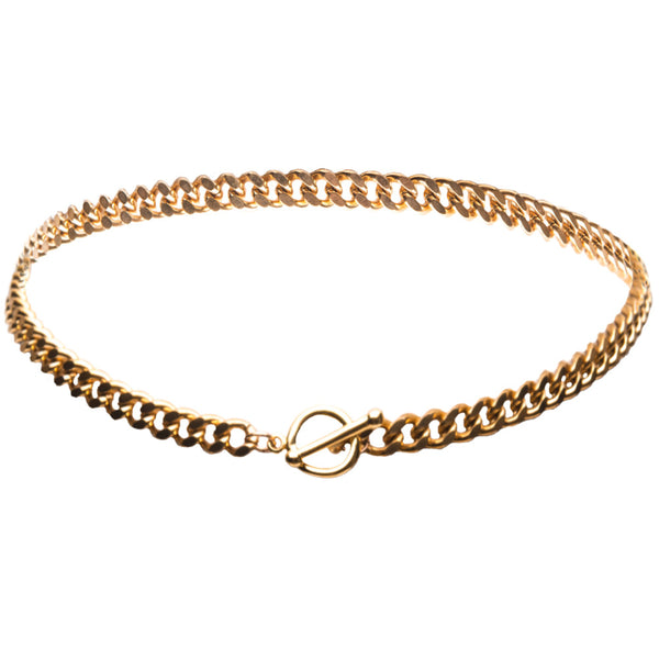 Madison Gold Choker Necklace