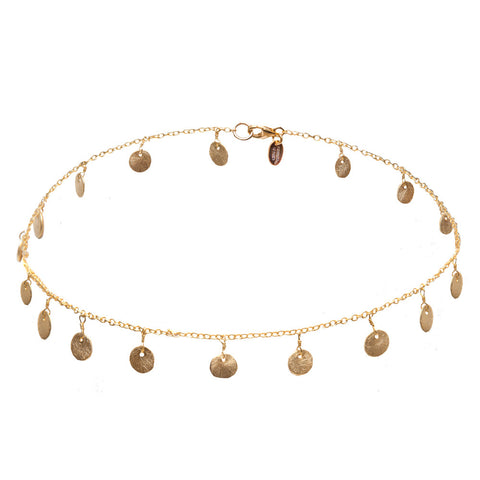 Stella Gold Coin Necklace