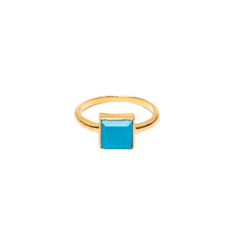 Charlie Turquoise Stone Ring