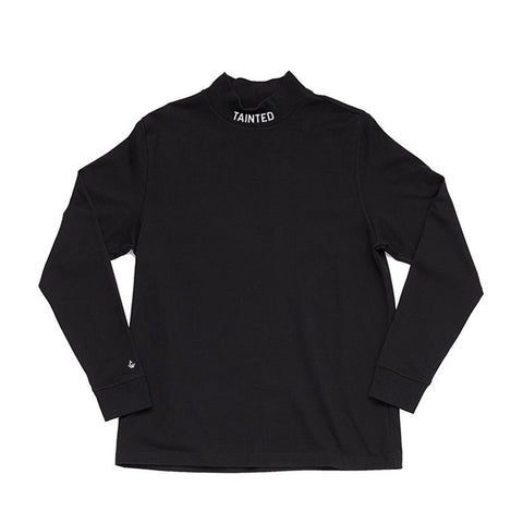 Tainted Mock Neck