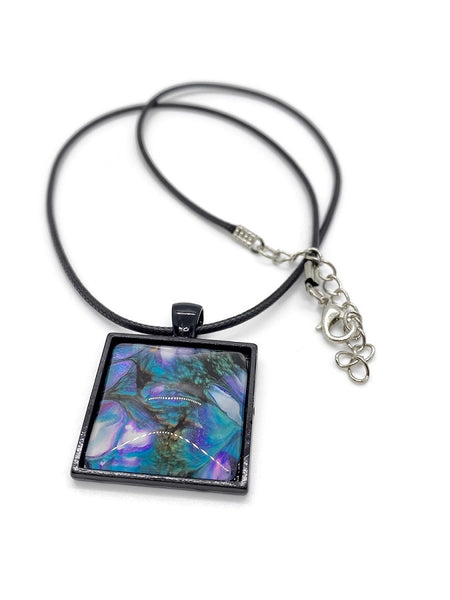 Fluid Art Necklace