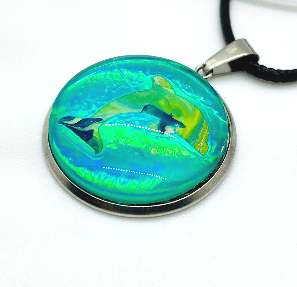 Coastal Jewelry Dolphin Necklace