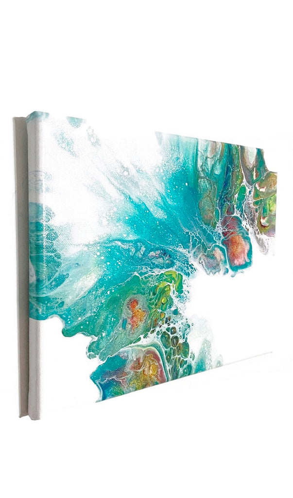 Dutch Pour Painting 8x10 Fluid Art