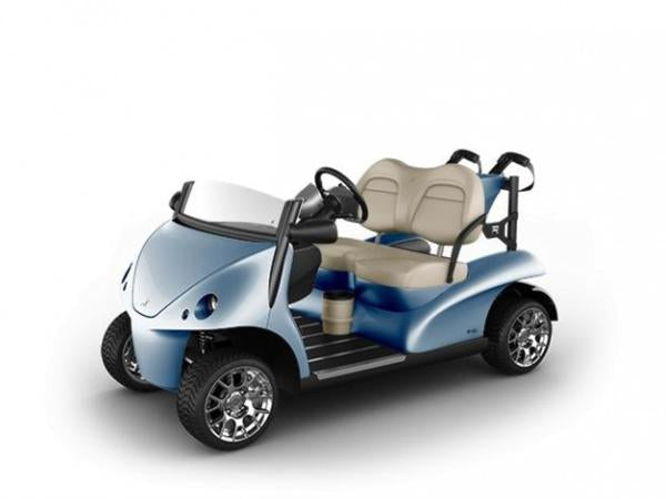 Desert Collection Garia Golf 2+2 (4-seater) in Blue Mirage