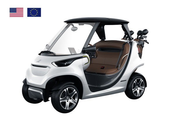 Coolest Golf Car Ever Diamond White