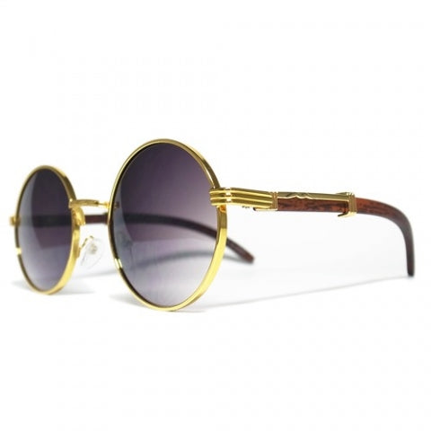 Buffalo Carter Wood Sunglasses (Gold)
