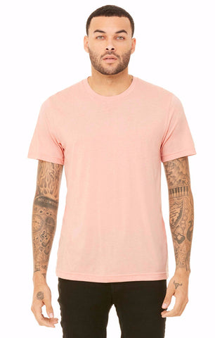 Premium Short Sleeve T-shirt (Heather Peach)