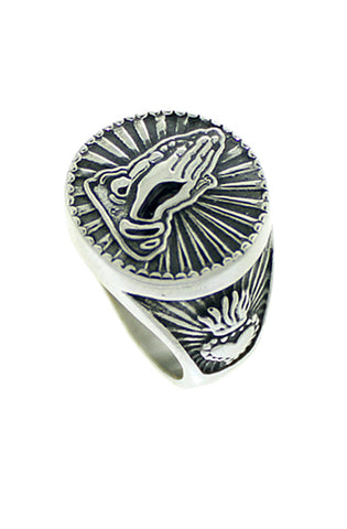 Praying Hands Ring (2 colors)