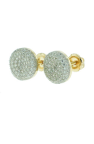 8094 Disco Stud Earrings