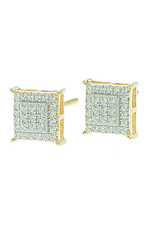 8219 Square Earrings