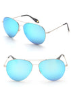 Angel Aviator Sunglasses (Blue)