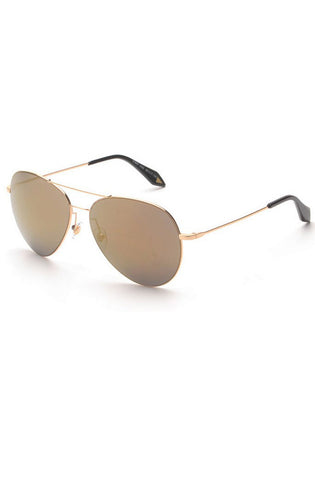 View Aviator Sunglasses (Gold)