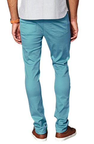 Denim Slim Fit (Aqua) - RoialBijouxx