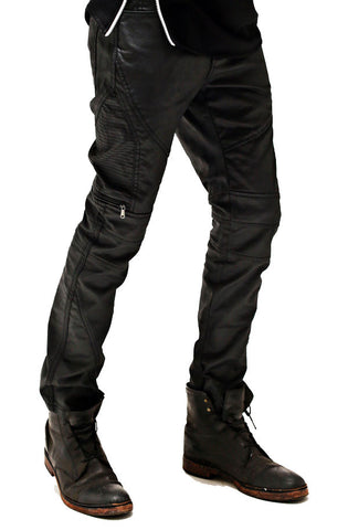 Wax Biker Denim (Black) - RoialBijouxx
