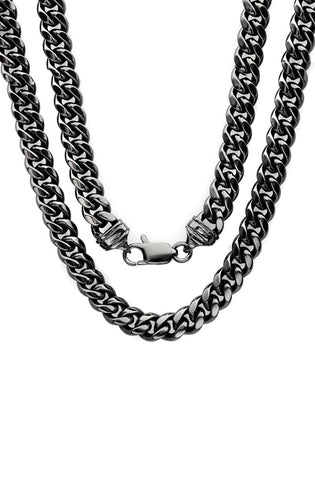 Cuban Necklace (Black)