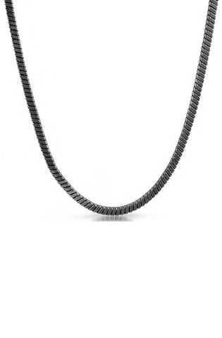 Snake Necklace (Black) - RoialBijouxx