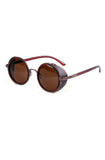 Smoker Sunglasses (Brown) - RoialBijouxx