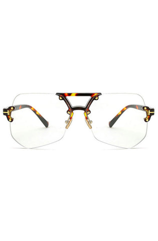 Capri Clear Glasses (Tortoise)