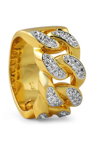 Cuban Ring (Gold) - RoialBijouxx