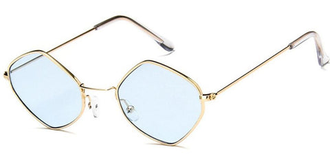 Diamante Sunglasses (Blue)