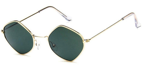 Diamante Sunglasses (Gold)