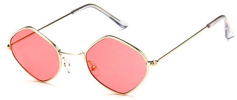 Diamante Sunglasses (Red)