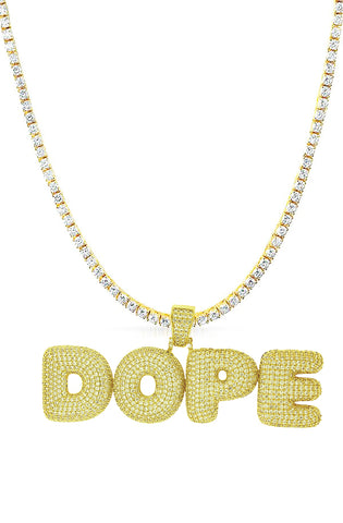 DOPE Tennis Necklace