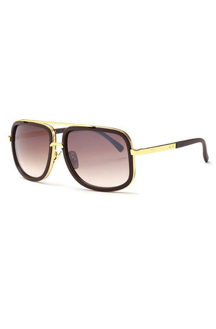 Dos Sunglasses (Brown) - RoialBijouxx