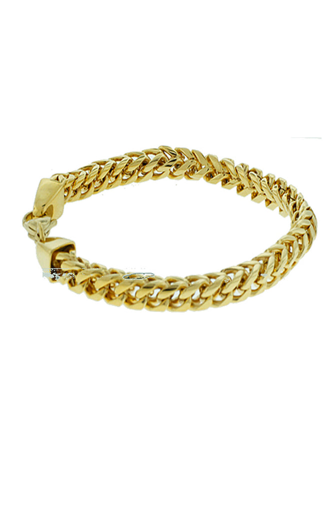 bracelet franco products roialbijouxx gold