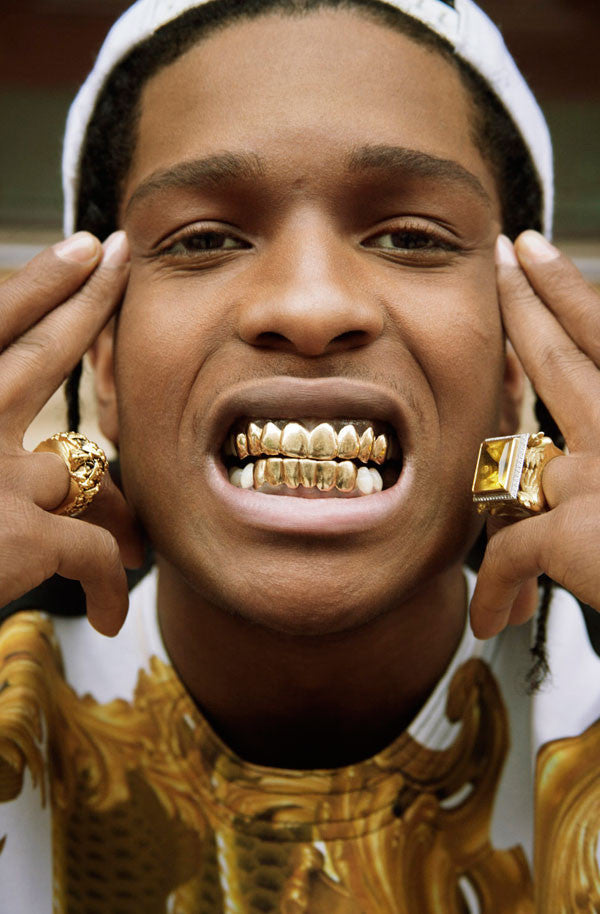 Gold Grill Set