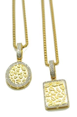 Nugget Necklace Pack (Gold)