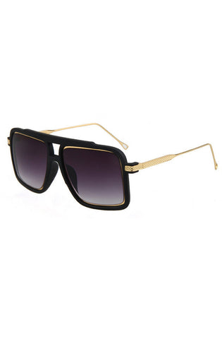 Grand Prix Sunglasses (Black)