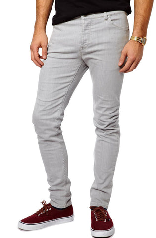 Denim Slim Fit (Grey) - RoialBijouxx