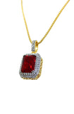 2-Row Ruby (Red)