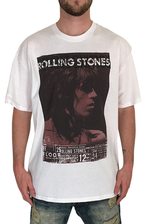 Rolling Stones T-shirt (White)