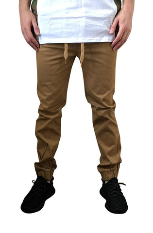 Twill Joggers (Timber)