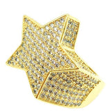 3D Star Ring (Gold)