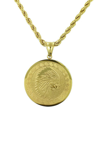 Indian Coin Necklace - RoialBijouxx