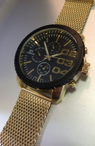 Jumbo Watch (Gold) - RoialBijouxx