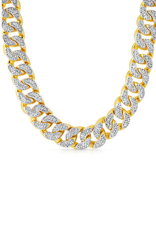 Diamond Cuban Necklace (Jumbo) - RoialBijouxx