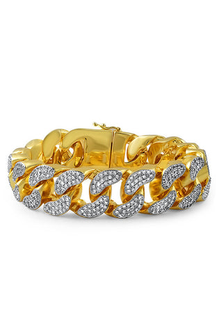 Jumbo Diamond Cuban Bracelet