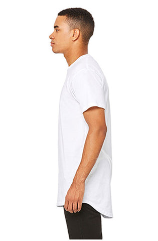 Long Body Tee (White) - RoialBijouxx
