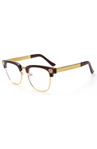Medusa Glasses Clear (Brown)