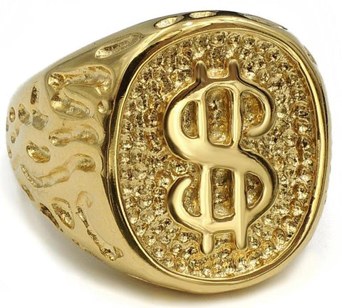 Gold Money Ring